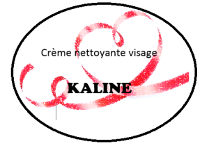 crème nettoyante kaline